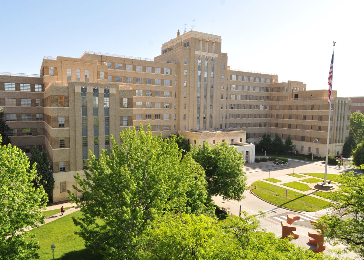 Fitzsimons building on the CU Anschutz Medical Campus
