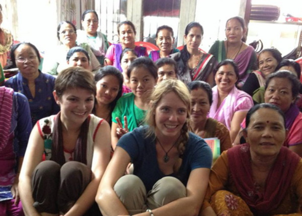 Meagan Cain Working in Nepal