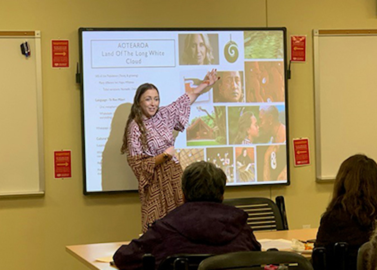 carrie clifford teaching class