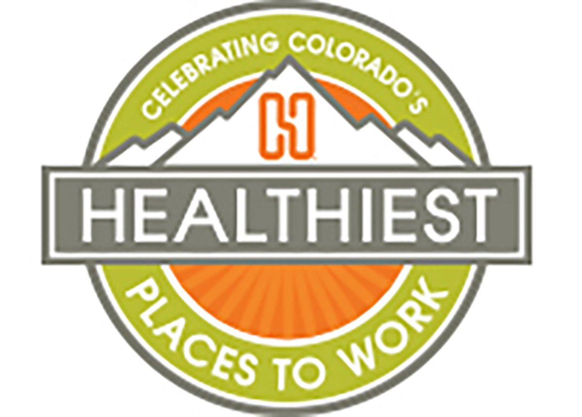 colorado healthiest place to work logo