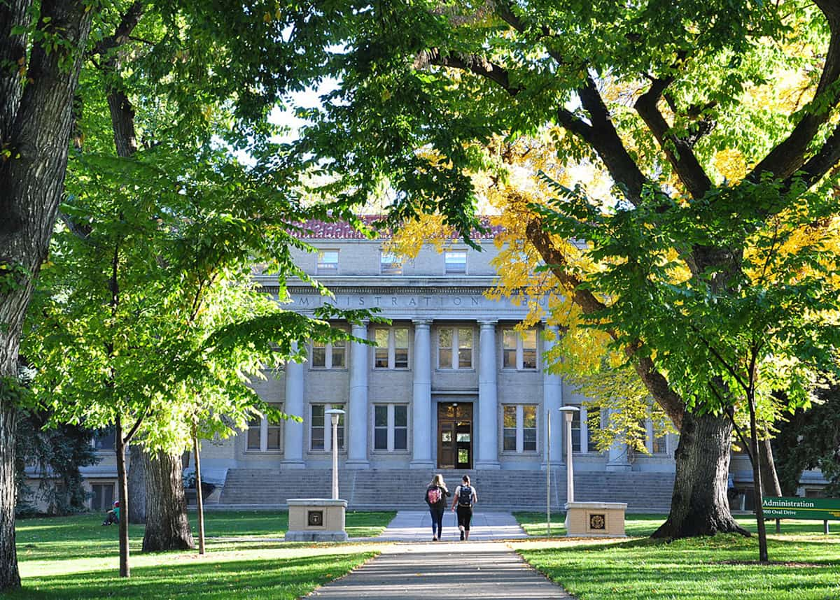 Administrative Building on CSU campus