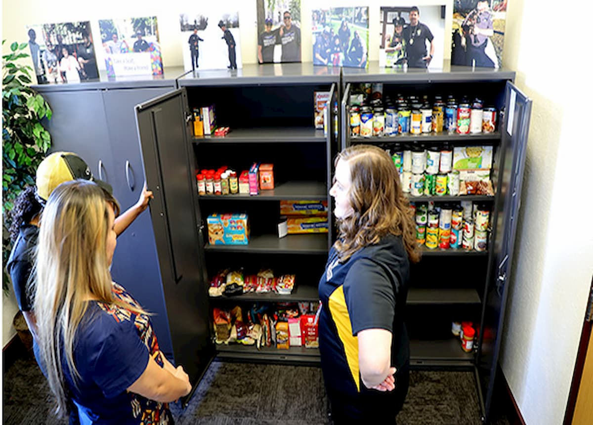 Student food pantry