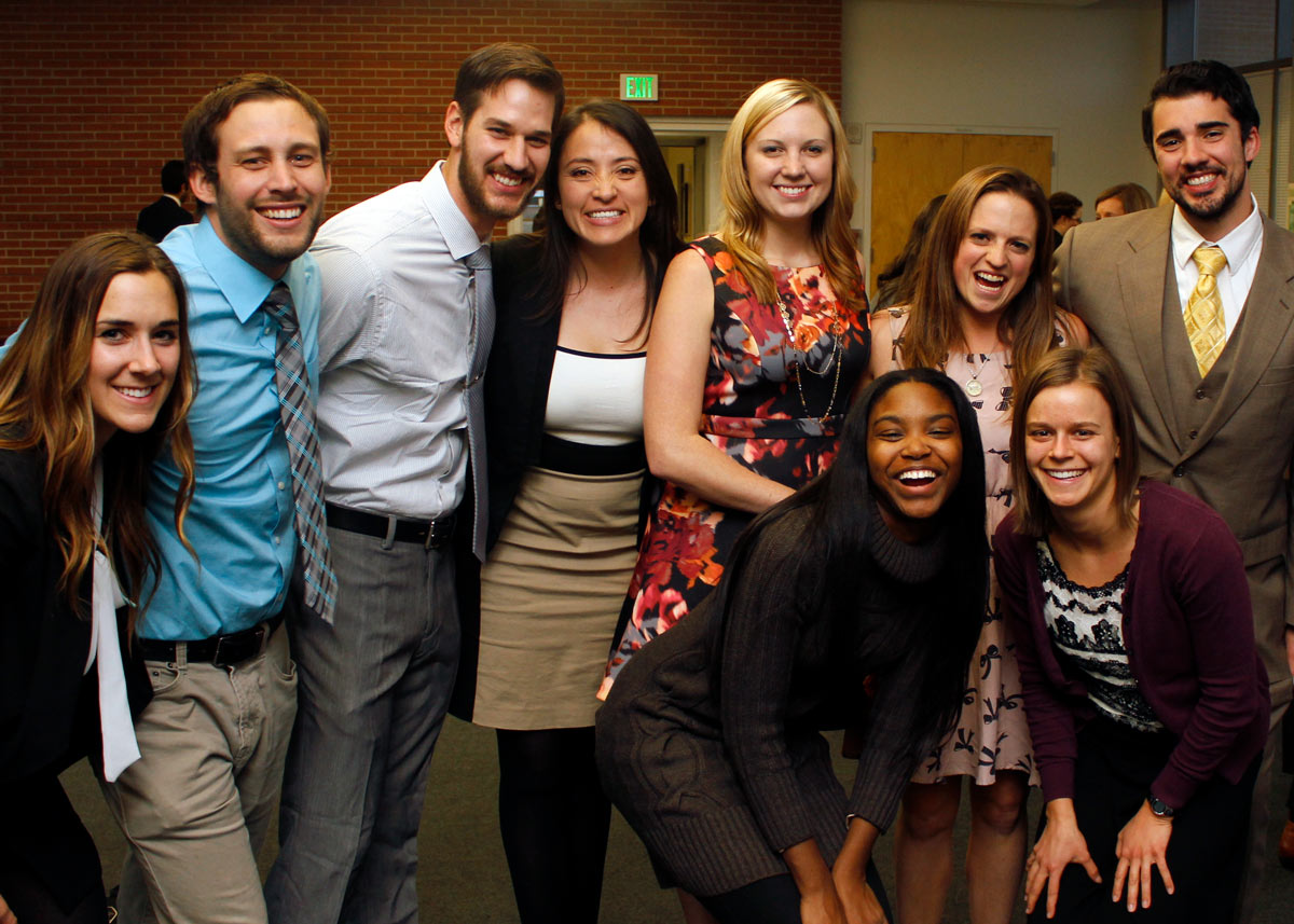 Group of ColoradoSPH student smiling