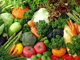 various vegetables scattered on table