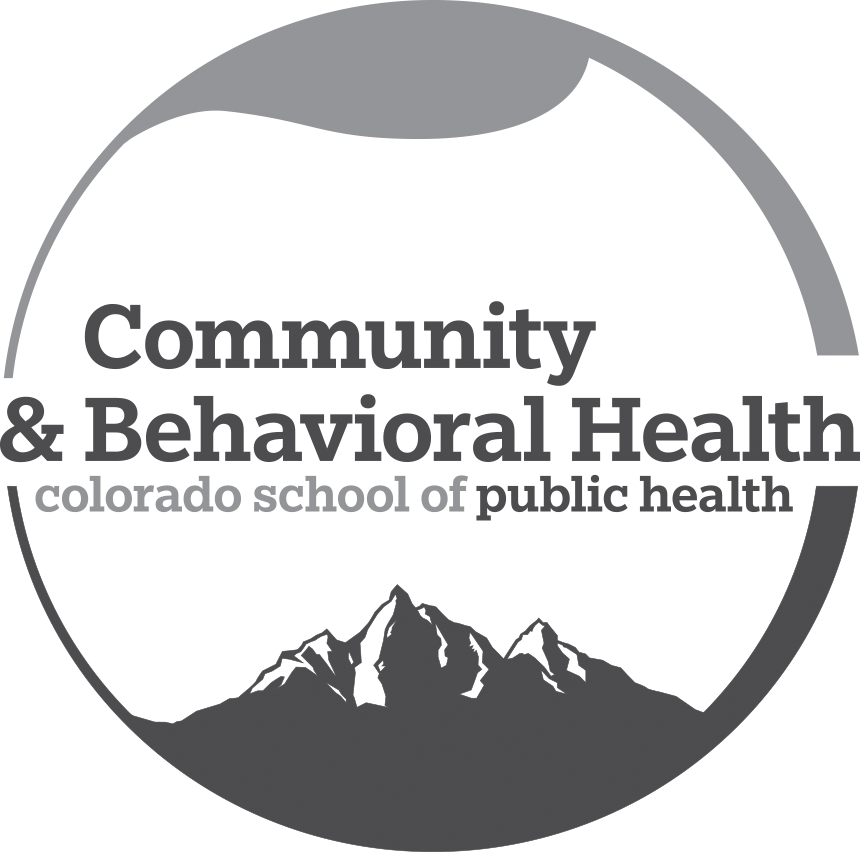 Community and Behavioral Health logo with mountains